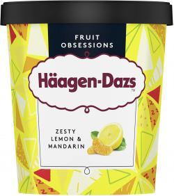 Häagen-Dazs Eiscreme Zesty Lemon & Mandarin
