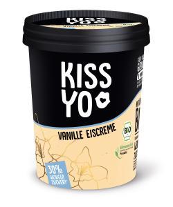 Kissyo Bio Eiscreme Vanille 30% weniger Zucker