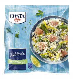 Costa Wildlachs Reis & Spargel