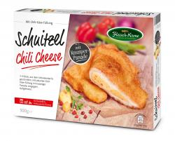 Fleisch-Krone Schnitzel Chili Cheese