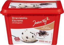 Jeden Tag Stracciatella-Eiscreme