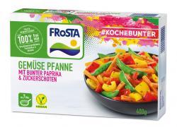 Frosta #Kochebunter Gemüse Pfanne mit bunter Paprika & Zuckerschoten