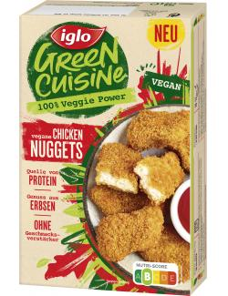 Iglo Green Cuisine Vegane Chicken Nuggets