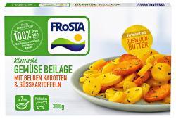 Frosta Gemüse Beilage mit gelben Karotten & Süsskartoffeln