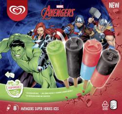 Langnese Disney Avengers Super Heroes Ice