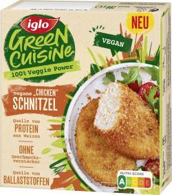 Iglo Green Cuisine Vegane 'Chicken' Schnitzel