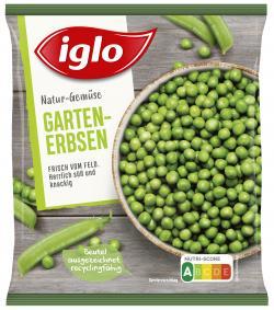 Iglo Natur-Gemüse Garten-Erbsen