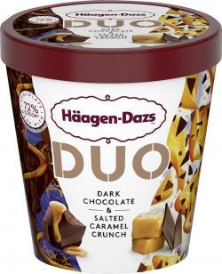 Häagen-Dazs Eiscreme Duo Dark Chocolate & Salted Caramel Crunch