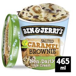 Ben & Jerry's Salted Caramel Brownie Non-Dairy Ice Cream