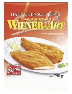 Sprehe Feinkost Hähnchenschnitzel Wiener Art