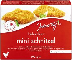 Jeden Tag Hähnchen Mini-Schnitzel