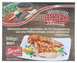 Sprehe Hähnchen Filetsteak Pfeffermarinade (500 g) - 4004860013138