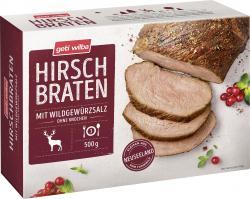 Geti Wilba Hirschbraten