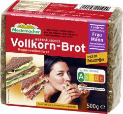 Mestemacher Echt westfälisches Vollkorn-Brot