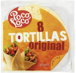 Poco Loco Tortillas Original (320 g) - 5412514555559