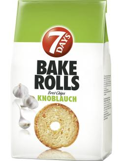 7 Days Bake Rolls Brot Chips Knoblauch