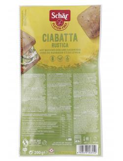 Schär Ciabatta Rustica