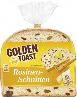 Golden Toast Rosinen-Schnitten