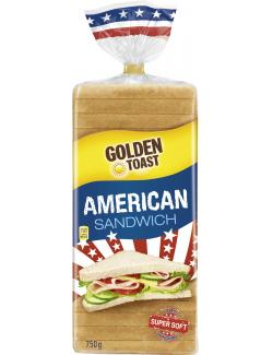 Golden Toast American Sandwich