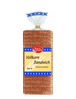 Kornmark Vollkorn Sandwich (750 g) - 4009249008460