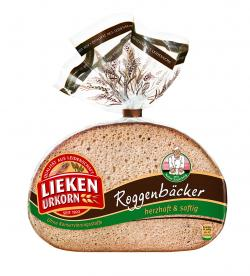 Lieken Urkorn Roggenbäcker (250 g) - 4009249001379