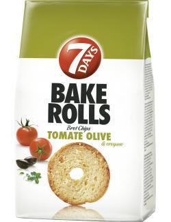 7 Days Bake Rolls Tomate Olive & Oregano (250 g) - 5201360605590
