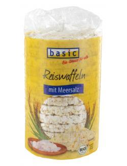 Basic Reiswaffeln mit Meersalz