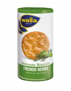Wasa Knäckebrot Delicate Rounds French Herbs