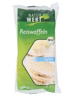Naturwert Bio Reiswaffeln Joghurt (100 g) - 4250780309312