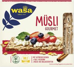 Wasa Knäckebrot Müsli Gourmet
