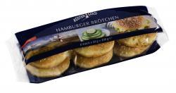 Küstengold Hamburger Brötchen mit Sesam (6 x 50 g) - 4250426216257