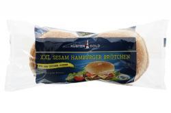 Küstengold Hamburger Buns XXL Sesam 4er