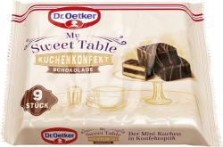 Dr. Oetker My Sweet Table Kuchenkonfekt Schokolade