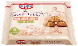 Dr. Oetker My Sweet Table Mini Gugelhupf Nuss