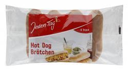 Jeden Tag Hot Dogs Brötchen