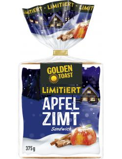 Golden Toast Apfel Zimt Sandwich