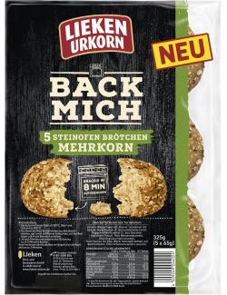 Lieken Urkorn Back Mich Steinofen Brötchen Mehrkorn