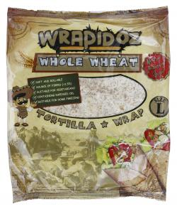 Wrapidoz Vollkorn Tortilla Wraps