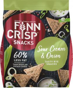 Finn Crisp Snacks Sour Cream & Onion