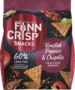 Finn Crisp Snacks Roasted Peppers & Chipotle