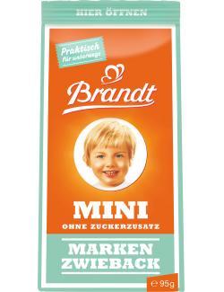 Brandt Mini Zwieback ohne Zuckerzusatz