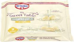Oetker My Sweet Table Kuchenkugeln Zitrone