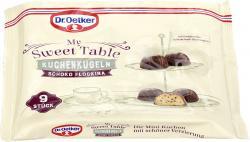 Oetker My Sweet Table Kuchenkugeln Schoko Flockina