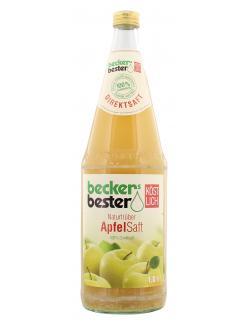 Becker's Bester Naturtrüber Apfelsaft (1 l) - 4001716011423