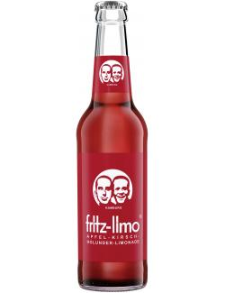 Fritz-Limo Apfel-Kirsch-Holunder-Limonade (330 ml) - 4260107220299