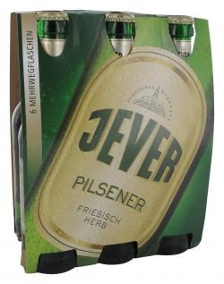 Jever Pilsener (6 x 0,33 l) - 4008948130007