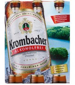 Krombacher Alkoholfrei (6 x 0,33 l) - 4008287052664