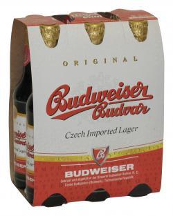 Budweiser Budvar (6 x 0,33 l) - 8594403110173