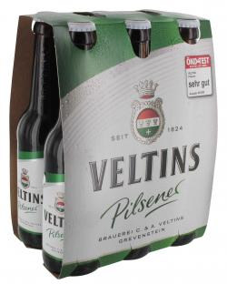 Veltins Pilsener (6 x 0,33 l) - 4005249000343