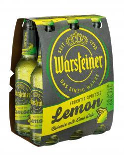 Warsteiner Lemon (6 x 0,33 l) - 4000856105153